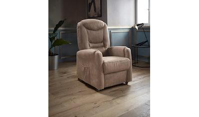 Places of Style TV - Sessel »Tamworth«, in Größe M, wahlweise mit Motor und Aufstehhilfe kaufen