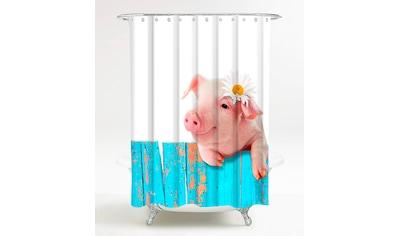 Sanilo Duschvorhang »Schwein«, Breite 180 cm, Höhe 200 cm kaufen