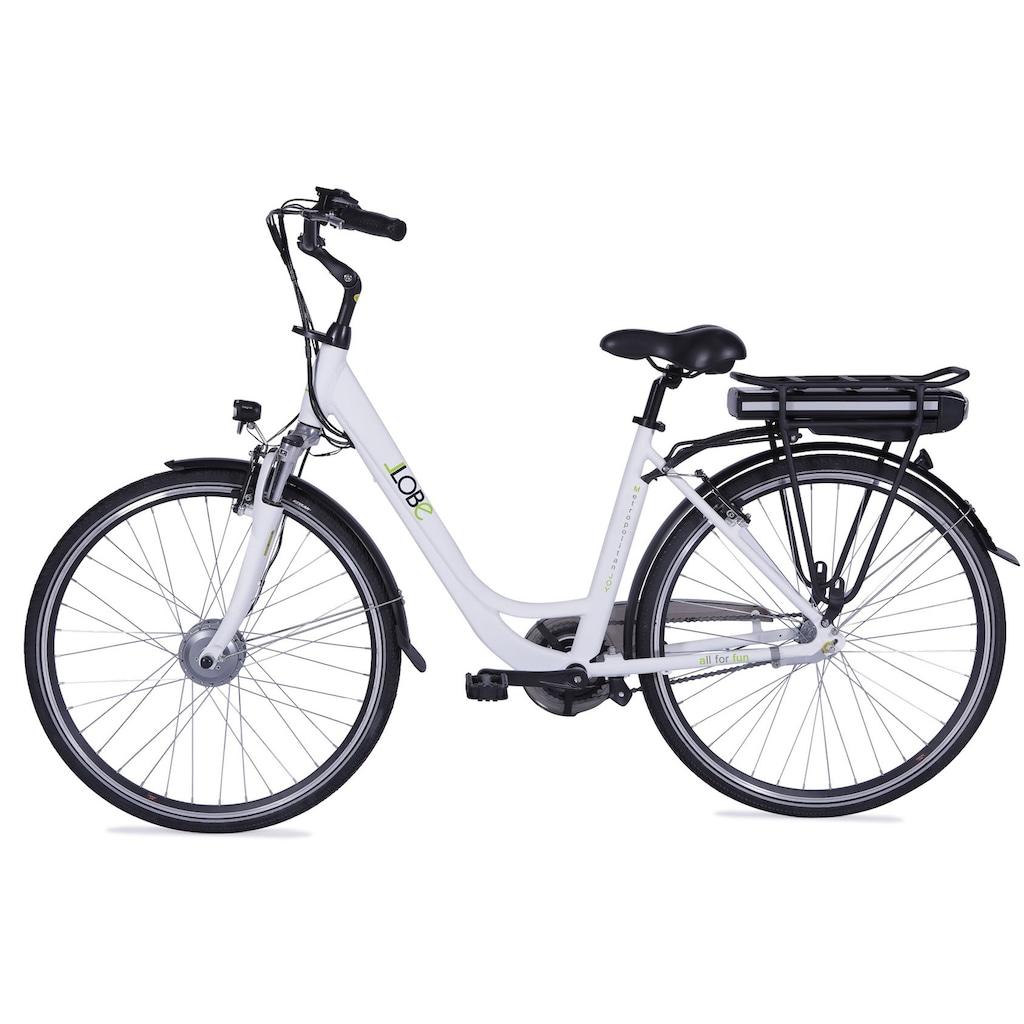 LLobe E-Bike »Metropolitan JOY weiß 8Ah«