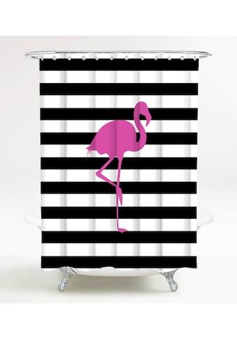 SANILO Duschvorhang »Flamingo«, 180 x 200 cm kaufen