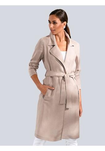 Alba Moda Mantel aus einer Leinen - Cupromischung kaufen