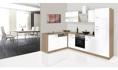 RESPEKTA Küchenzeile »Hamburg«, mit E-Geräten, Breite 170 x 280 cm kaufen
