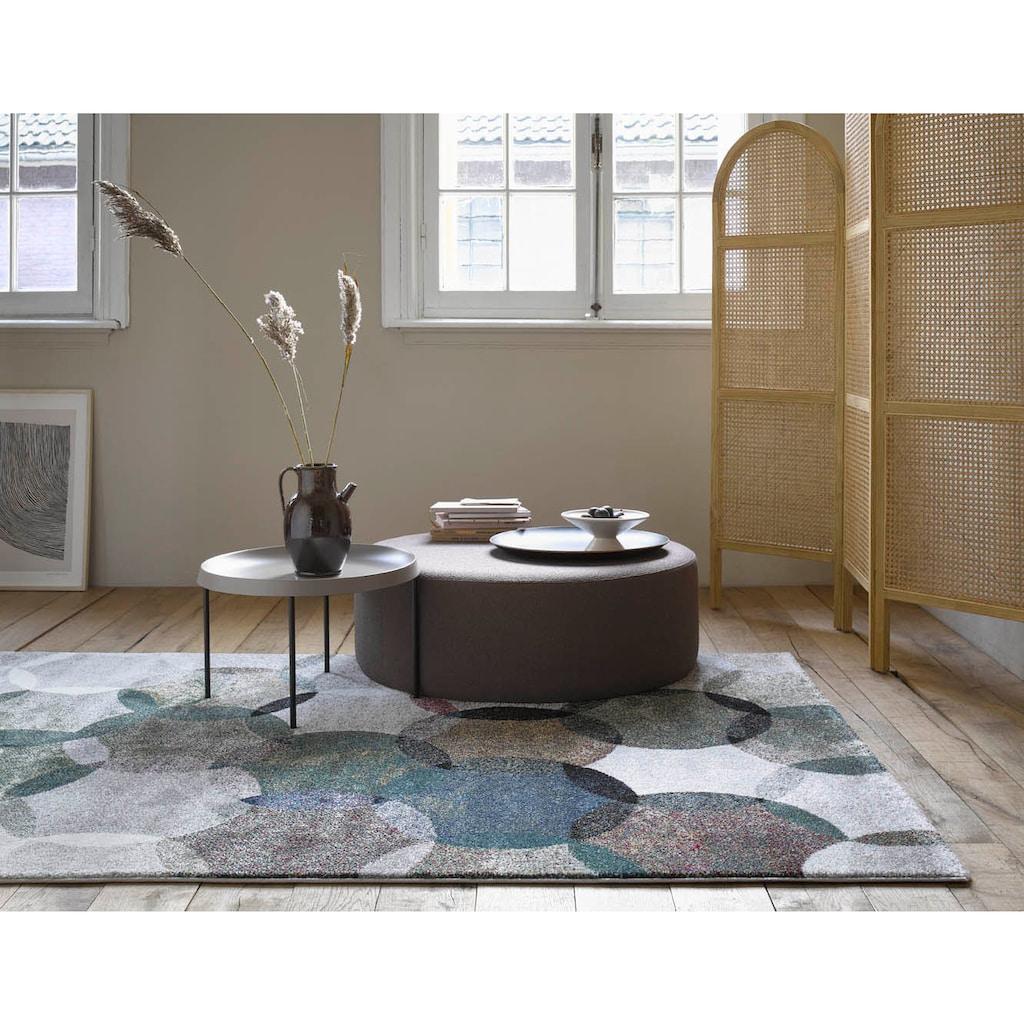 Esprit Teppich »Modernina«, rechteckig, 13 mm Höhe, Kurzflor in moderem Design, Wohnzimmer