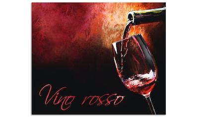 Artland Küchenrückwand »Wein - Rotwein« kaufen