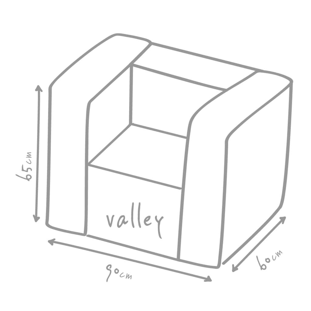 OUTBAG Sitzsack »Valley Plus«, wetterfest, für den Außenbereich, BxT: 90x60 cm