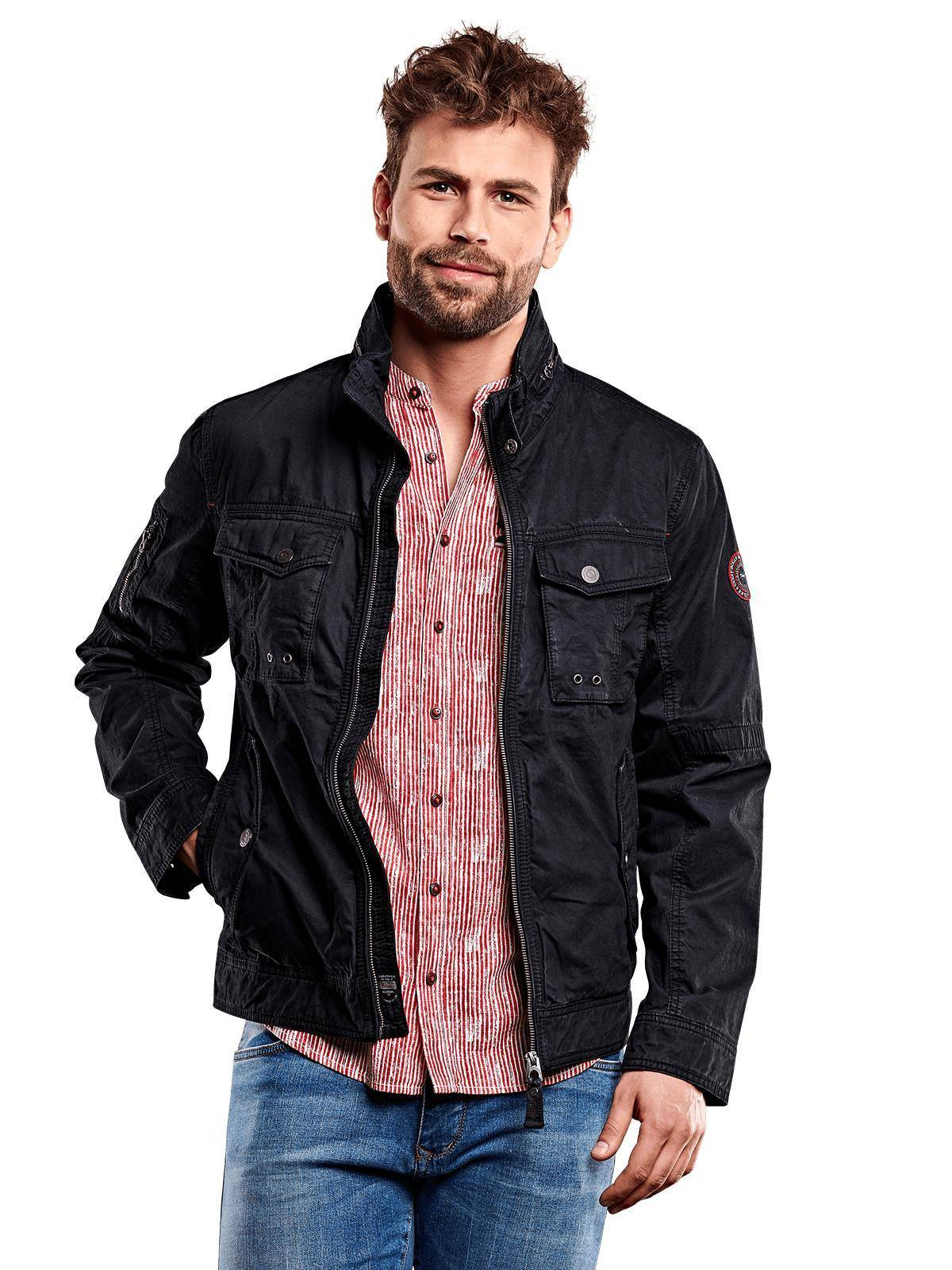 Engbers Stylische feste Baumwolljacke | Bekleidung > Jacken > Fieldjackets | Engbers