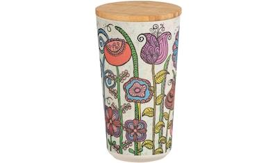 WENKO Aufbewahrungsdose »Flowers«, 0,95 Liter, aus hochwertigem Bambus kaufen