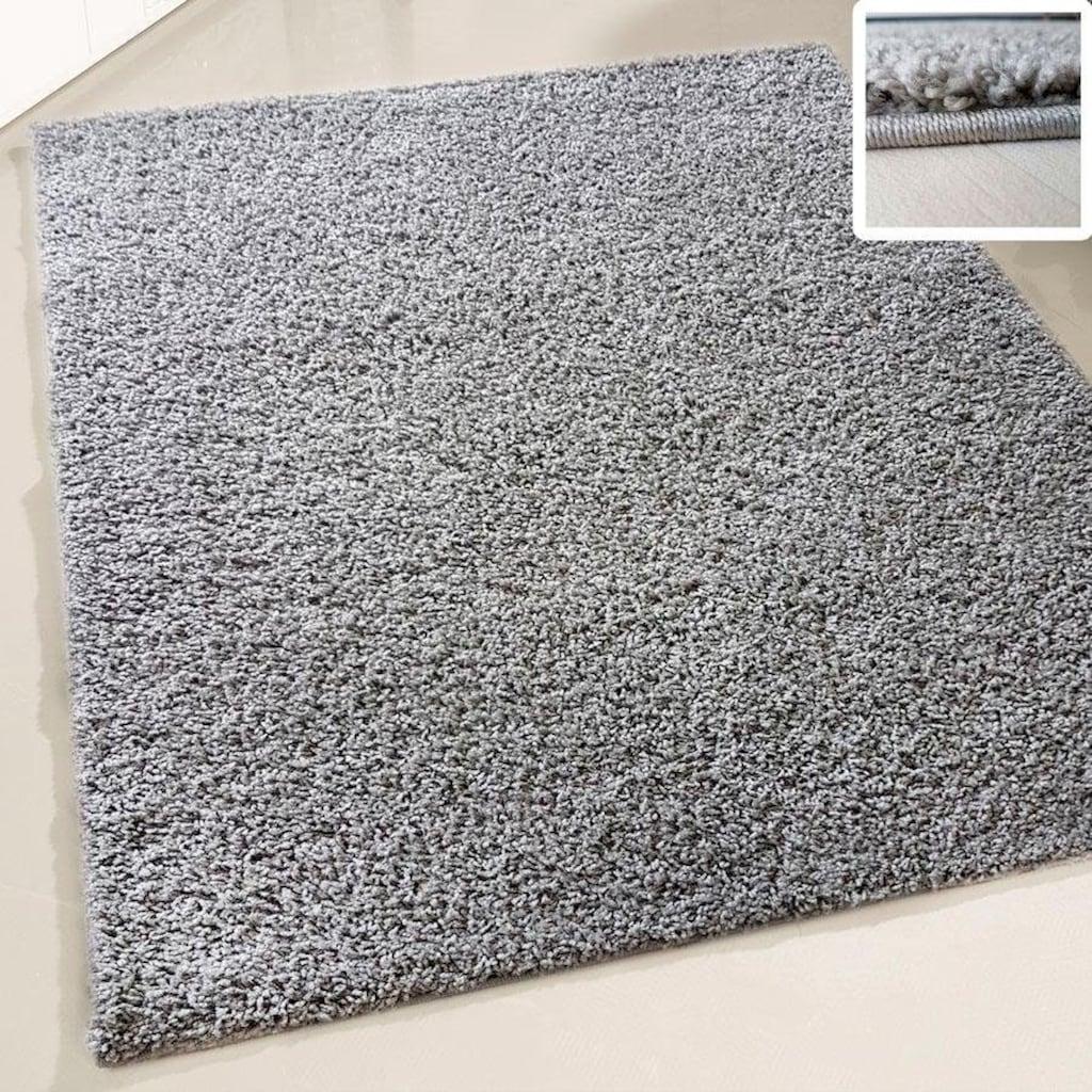 RESITAL The Voice of Carpet Hochflor-Teppich »Harmony 21«, rechteckig, 30 mm Höhe, gewebt, Uni-Farben, Wohnzimmer