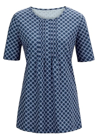 Classic Basics Shirt im trendigen Minimal - Dessin kaufen