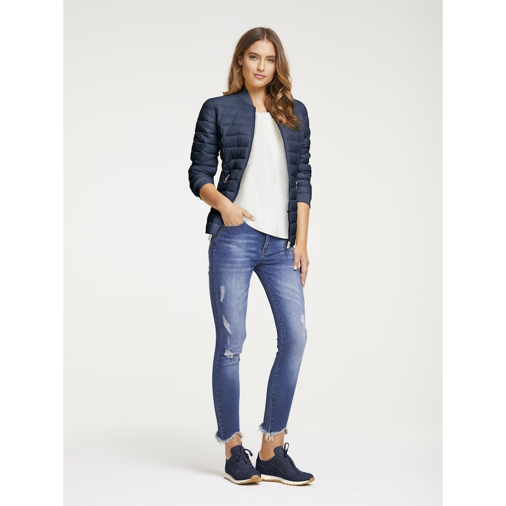 LINEA TESINI by Heine Skinny-fit-Jeans, mit Push-up Effekt