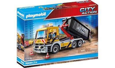 Playmobil® Konstruktions-Spielset »LKW mit Wechselaufbau (70444), City Action«, Made in Europe kaufen