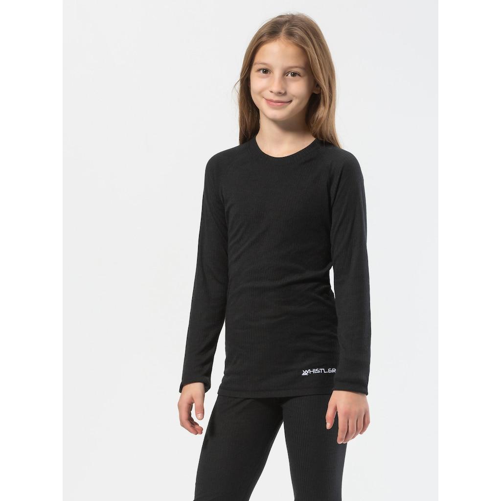 WHISTLER Funktionsshirt »Oppdal«, mit schlichtem Langarmshirt und Tights