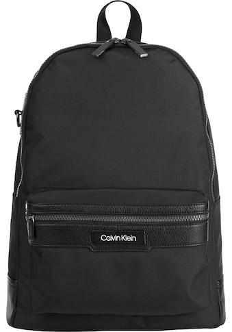 Calvin Klein Cityrucksack »CK ID NYLON CAMPUS BP« kaufen