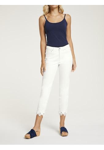 LINEA TESINI by Heine 5-Pocket-Jeans, mit Stickerei kaufen