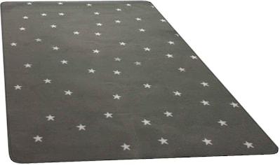 Primaflor-Ideen in Textil Kinderteppich »STELLA«, rechteckig, 5 mm Höhe, Stern Motiv kaufen