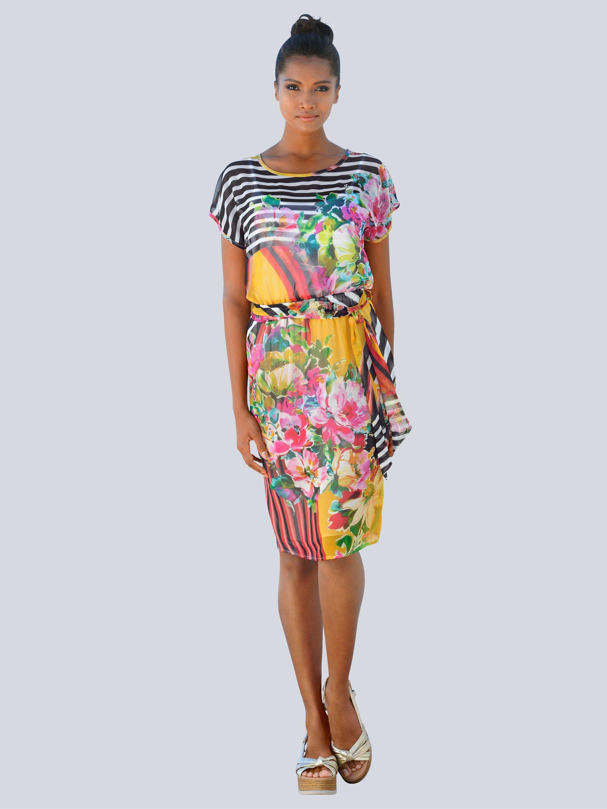 Alba Moda Kleid im Druckmix