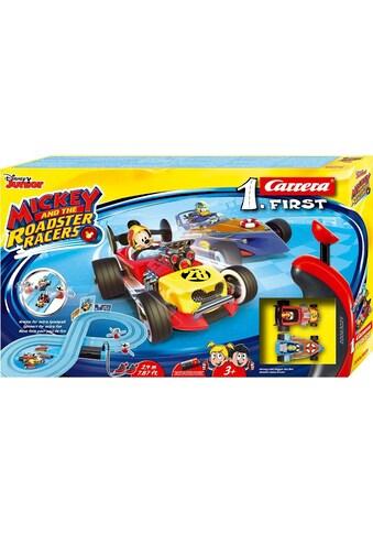"""Carrera® Autorennbahn """"Carrera® First  -  Mickey and the Roadster Racers"""", (Streckenlänge 2,4 m), (Set) kaufen"""