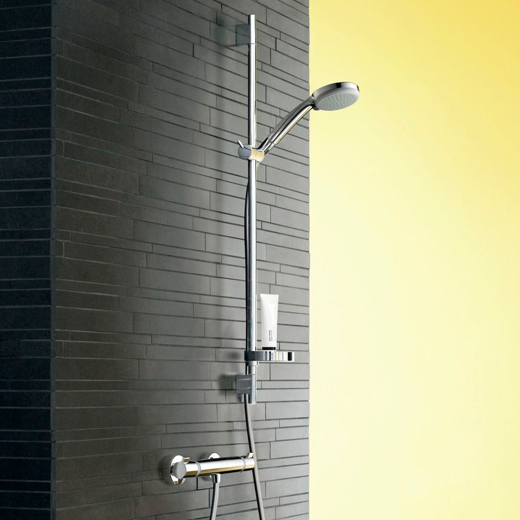 HANSGROHE Brausegarnitur »Croma 100 Ecostat Comfort Combi«, mit Brausestange 90 cm