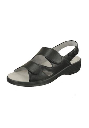 Natural Feet Sandale »Cornelia«, mit Sola-Stretch in Leder-Optik kaufen