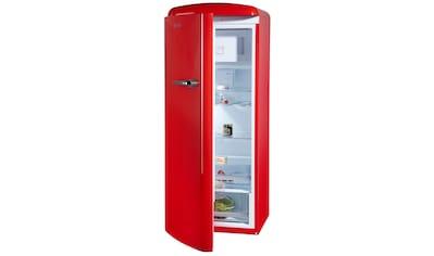 Gorenje Kühlschrank Orb153r : Retro kühlschränke rot auf raten kaufen baur