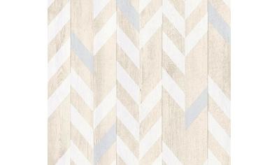 living walls Vliestapete »Authentic Walls«, matt-gemustert-gestreift-Holz-realistisch,... kaufen