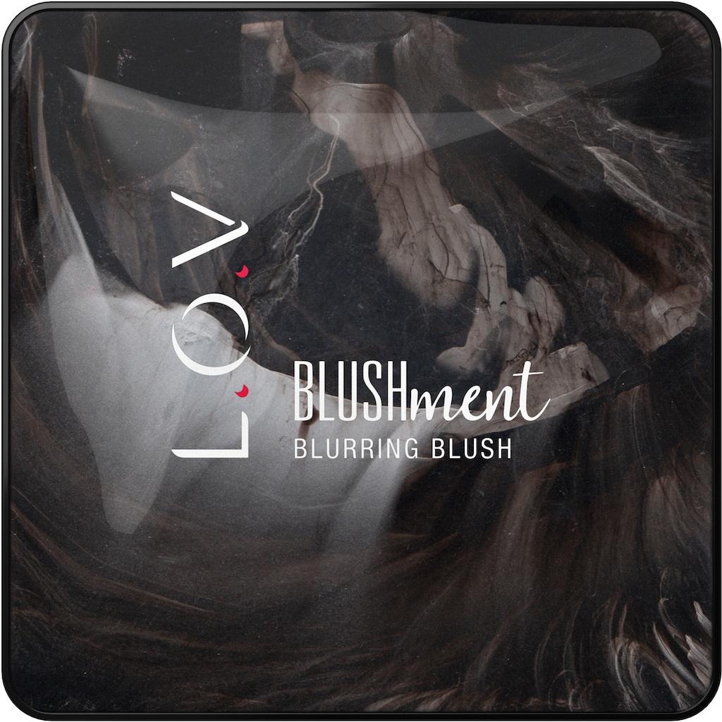"""L.O.V Bronzer-Puder """"BLUSHMENT blurring blush"""""""