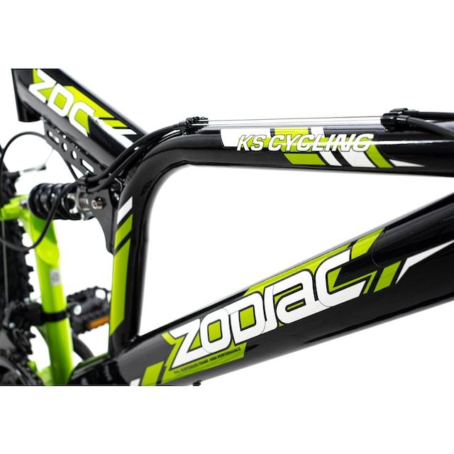 KS Cycling Mountainbike »Zodiac«, 21 Gang Shimano Tourney Schaltwerk, Kettenschaltung