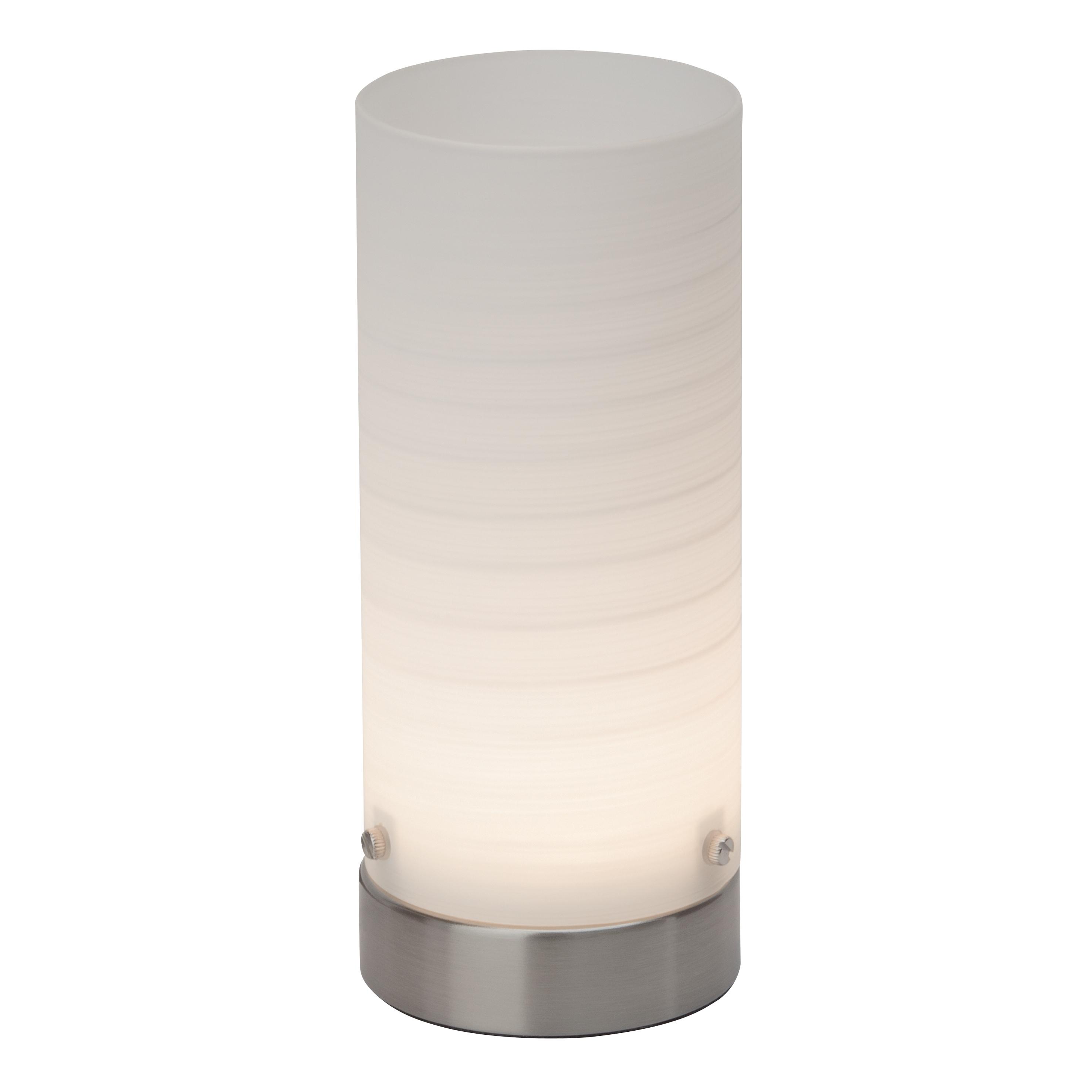 Brilliant Leuchten Daisy LED Tischleuchte eisen/weiß