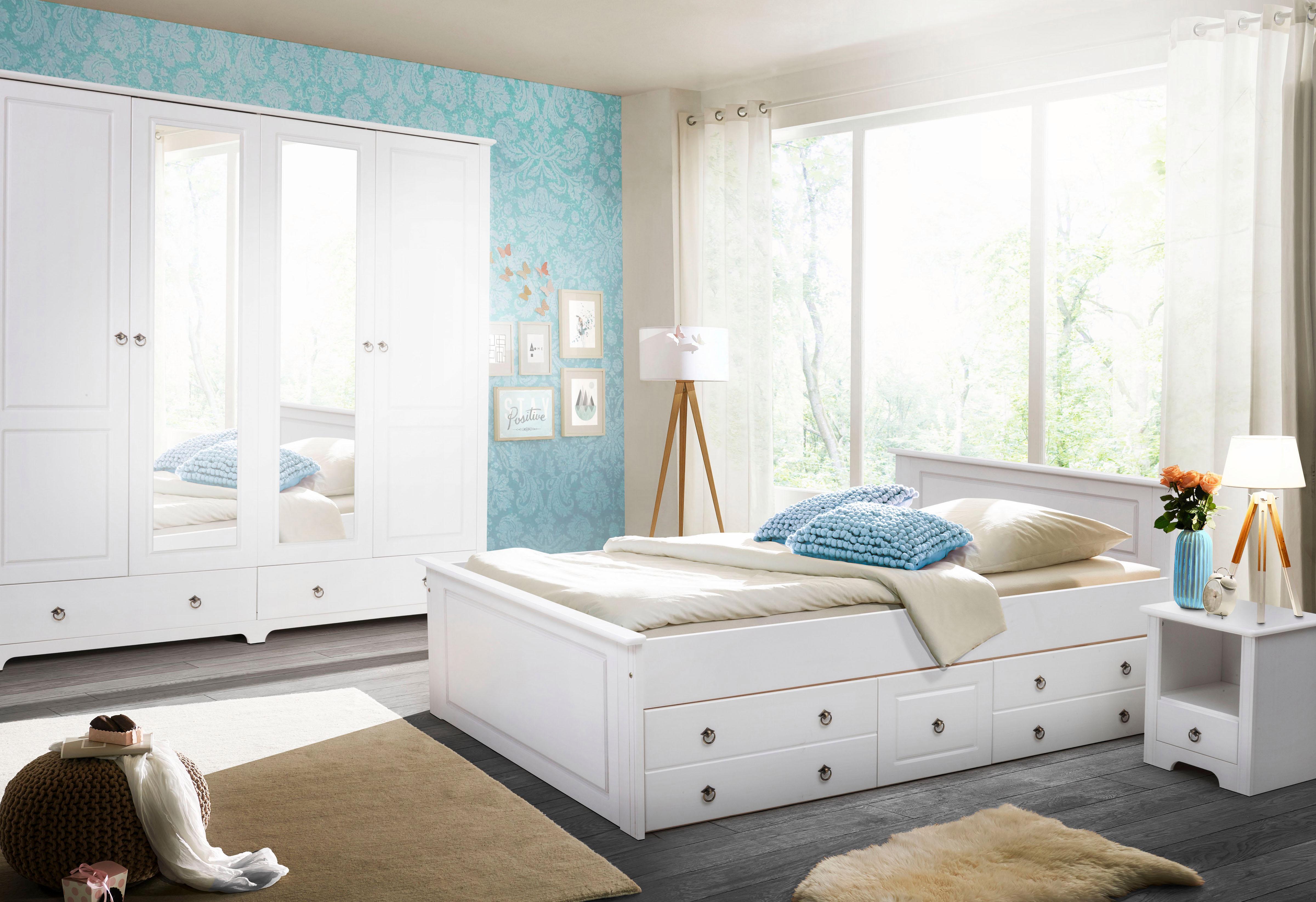 Home affaire Schlafzimmer-Set »Hugo« (Set, 4-tlg) auf Rechnung kaufen | BAUR