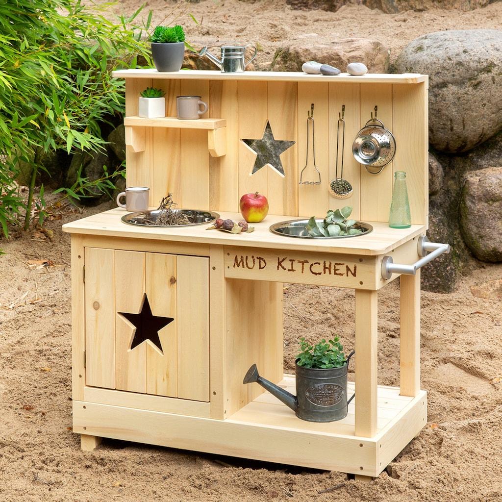 MUDDY BUDDY® Spielküche »Matschküche Star«, BxLxH: 40x80x90 cm