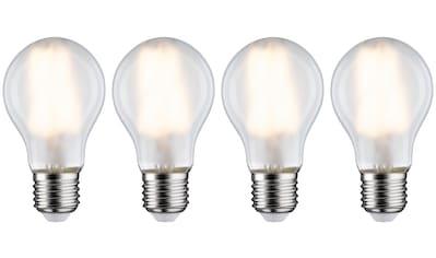 Paulmann »4er Pack 7W E27 2700K matt« LED - Filament, E27, Warmweiß kaufen