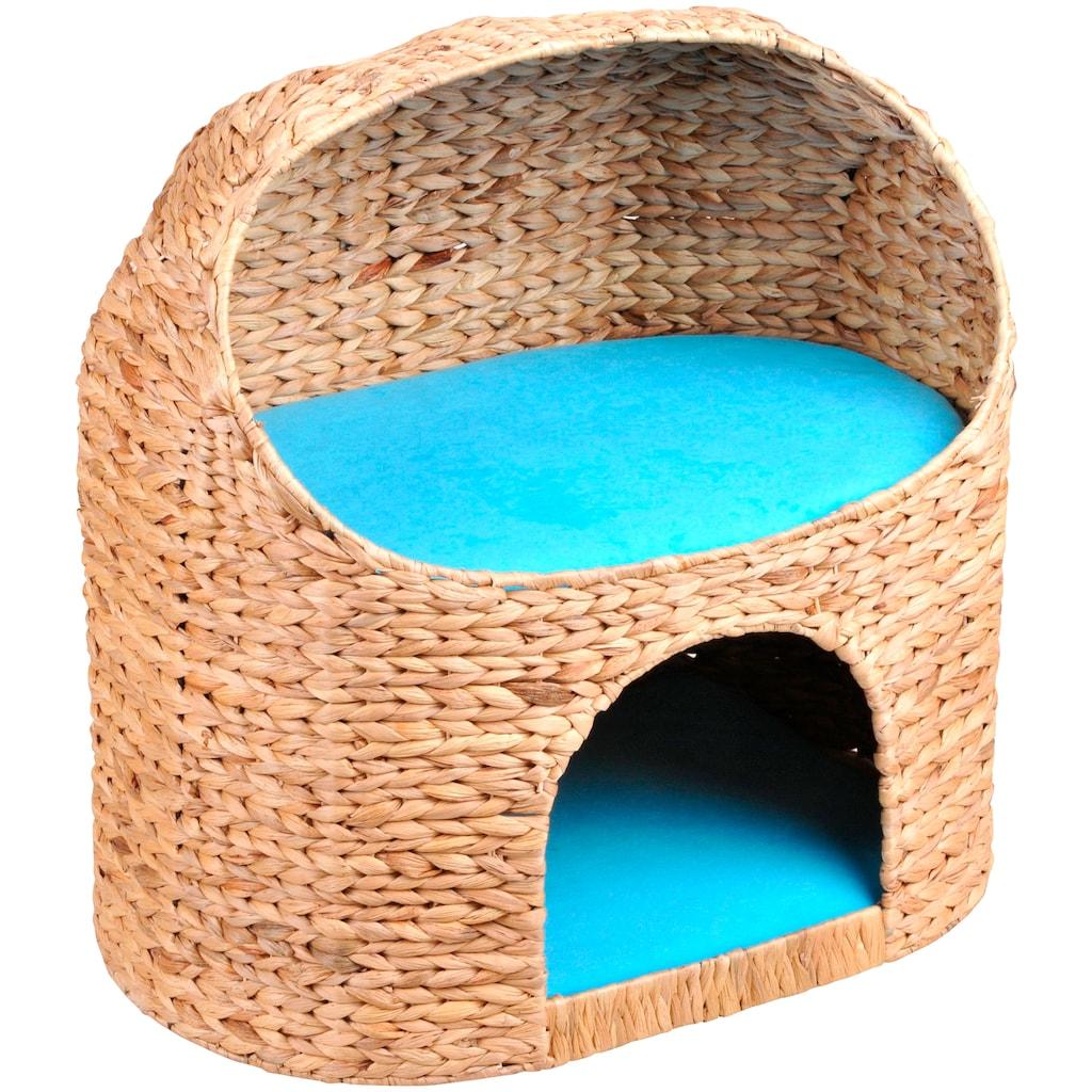 SILVIO design Tierbett »Marvin«, Katzenhoehle, BxLxH: 54x39x55 cm