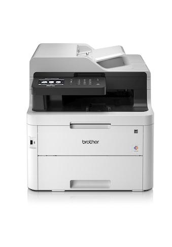 Brother »Kompaktes 4 - in - 1 Farb - Multifunktionsgerät« Farblaserdrucker (WLAN (Wi - Fi)) kaufen