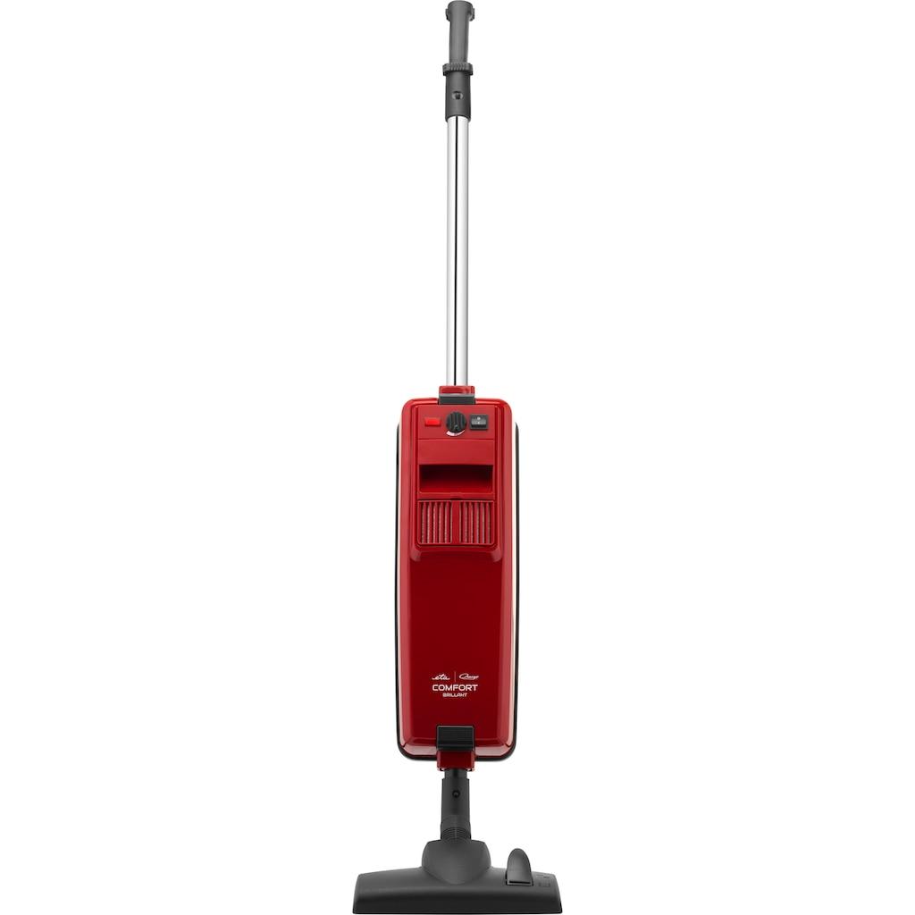 Omega Stielstaubsauger »COMFORT Parkett«, 800 W, mit Beutel, Parkettbürste, umschaltbare Bodendüse, Polster- und Fugendüse