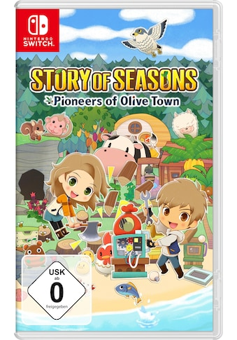 Spiel »Story Of Seasons: Pioneers Of Olive Town«, Nintendo Switch kaufen