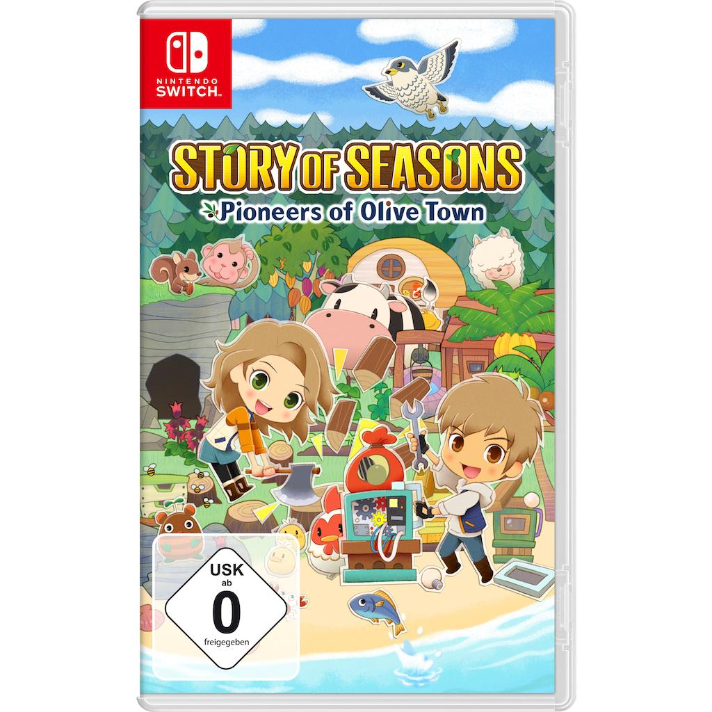 Spiel »Story Of Seasons: Pioneers Of Olive Town«, Nintendo Switch
