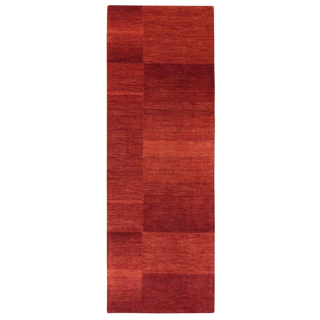 Theko Exklusiv Läufer »Jorun«, rechteckig, 14 mm Höhe, von Hand gearbeitet