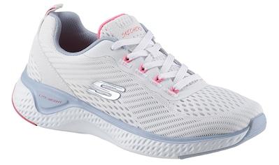 Skechers Sneaker »Solar Fuse - Cosmic View«, in modischer Strick-Optik kaufen