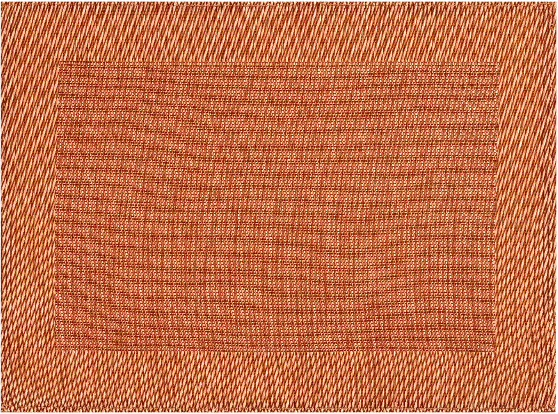 Platzset Cadre stuco (Set 4-tlg) | Heimtextilien > Tischdecken und Co > Platz-Sets | Orange | Stuco