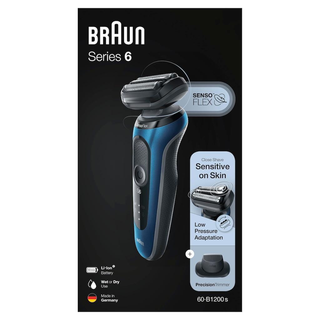Braun Elektrorasierer »Series 6 60-B1200s«, 1 St. Aufsätze