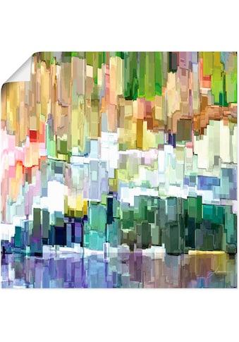 Artland Wandbild »Glacierbucht III«, Muster, (1 St.), in vielen Größen & Produktarten... kaufen