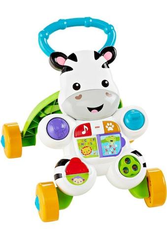 Fisher-Price® Lauflernhilfe »Lern mit mir Zebra Lauflernwagen« kaufen