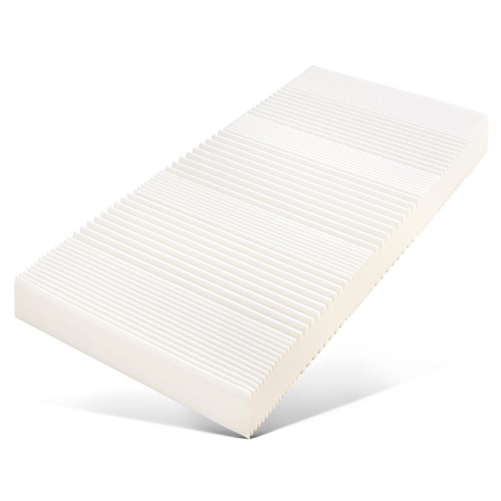 fan Schlafkomfort Exklusiv Komfortschaummatratze »ProVita Flex 21 S«, 21 cm cm hoch, Raumgewicht: 30 kg/m³, (1 St., 1 oder 2-tlg.), ideale Luftzirkulation durch Belüftungskanäle
