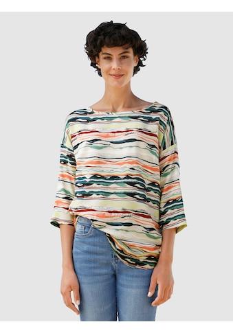 Dress In Druckbluse, mit sommerlichem Druck kaufen