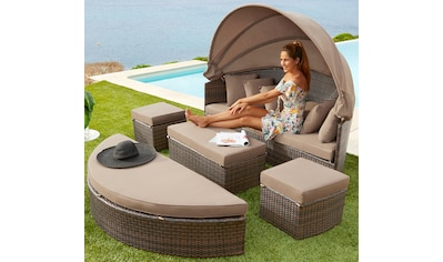 MERXX Loungesofa »Multifunktionsbett Riva«, Polyrattan kaufen