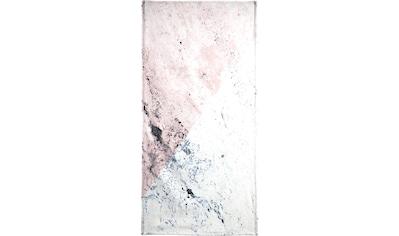 Juniqe Strandtuch »Rose Geo Marble«, (1 St.), Weiche Frottee-Veloursqualität kaufen