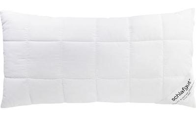 Schlafgut Kunstfaserkopfkissen »Pure Kissen«, (1 St.), Anschmiegsames Schlafgefühl... kaufen