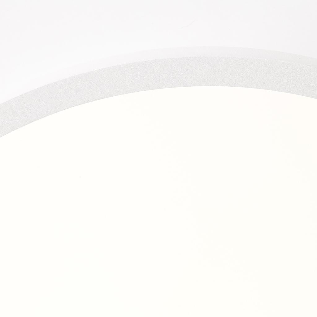 Brilliant Leuchten Buffi LED Deckenaufbau-Paneel 35cm sand/weiß/warmweiß
