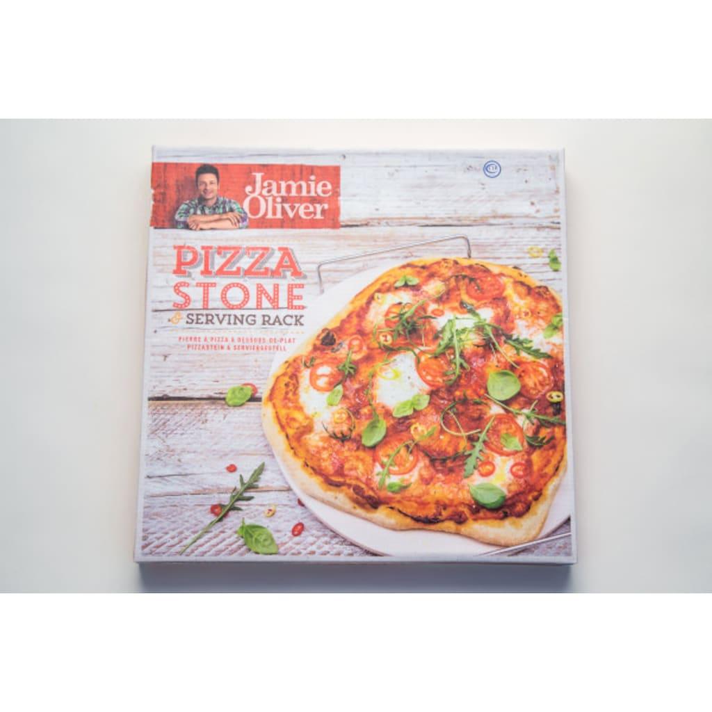 JAMIE OLIVER Pizzastein »JC5122«, Keramik, (1 St.), Ø 36cm
