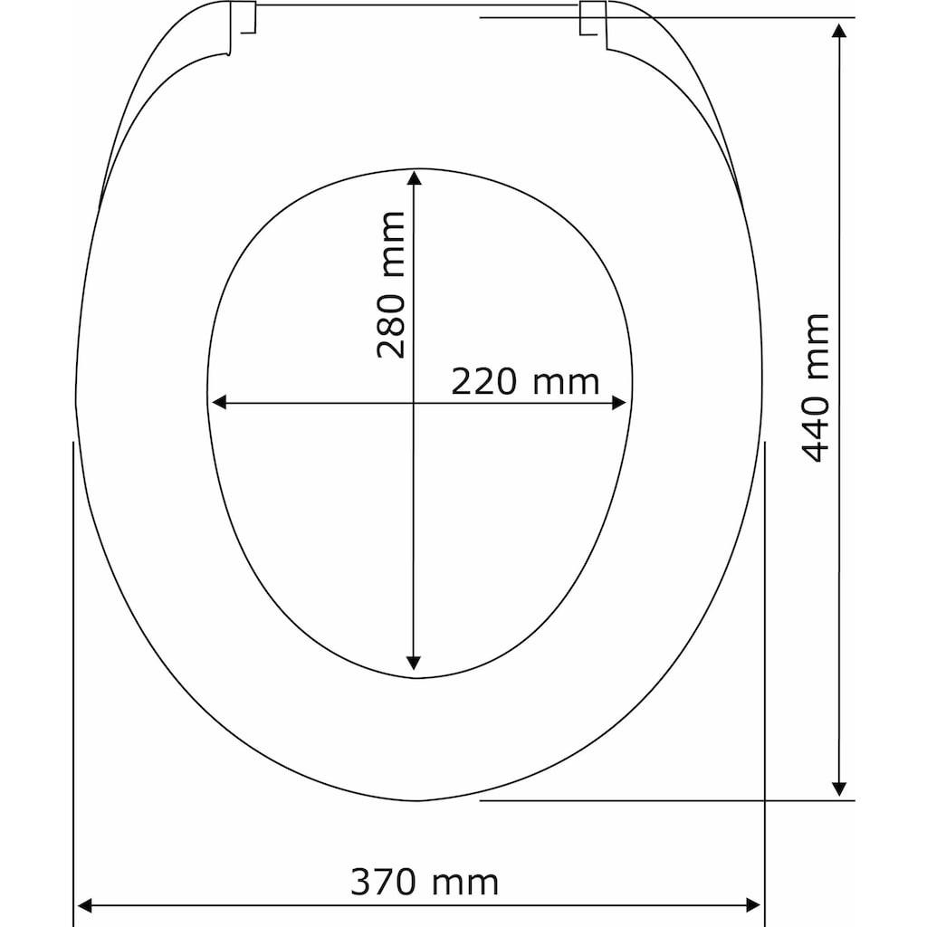 WENKO WC-Sitz »Speedy«